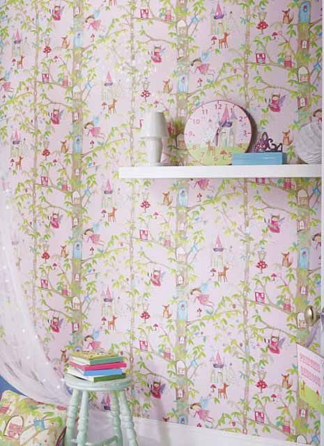 Imagine What You Can Do Wallpaper Woodland Fairies 667000 By Arthouse For Options